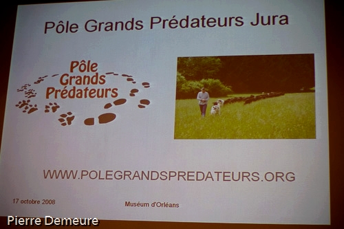 Une diapositive de la présentation vidéo du PGPJ lors du symposium d'Orléans.