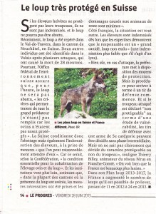 Article loup