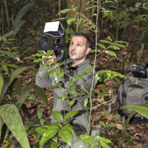 Le photographe Denis Palanque
