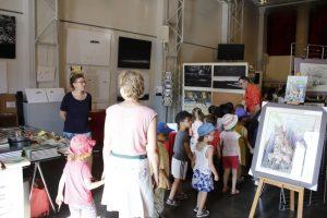 Accueil des scolaires - Festival vous avez dit Prédateurs Lons-le-Saunier Juin 2017